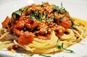 Итальянское блюдо паста в России