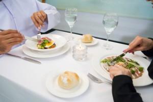 Некоторые нормы поведения в ресторане