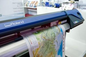 Разновидности современной широкоформатной печати