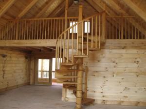 Деревянные лестницы для дачи – функционально, недорого, удобно