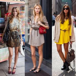 Учимся подбирать платье с учетом разных факторов