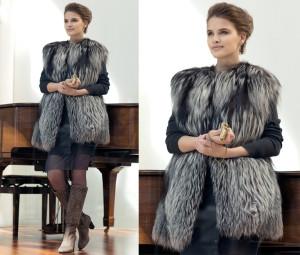 Меховые жилеты – всегда модные и актуальные!