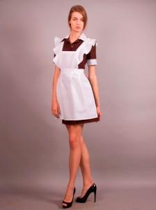 Школьная форма СССР для девочек – модный тренд на выпускные