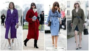 Особенности фасонов женского пальто 2016-2017