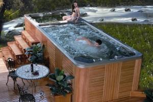 Плавательный спа бассейн – отдых с пользой