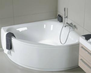 Акриловая ванна: небольшой вес и эстетика