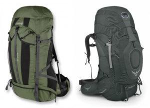 Как найти подходящую модель рюкзака 80-120 литров на сайте Aktive Sport