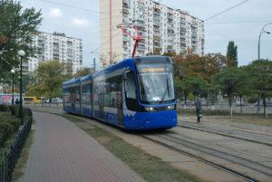 В Киеве появится 40 новых низкопольных трамваев