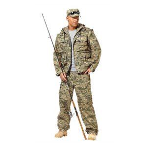 Демисезонные комплекты одежды для любителей охоты и рыбной ловли