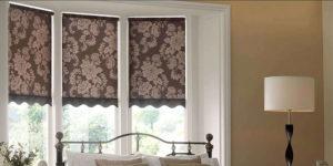 Римские шторы – оригинальное украшение любого интерьера