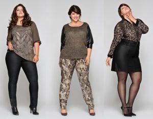 Выбор элегантной одежды больших размеров для женщин