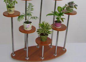 Создаем полку для цветов своими руками – яркий и практичный аксессуар без затрат