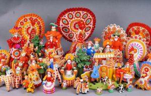 Самые популярные русские сувениры
