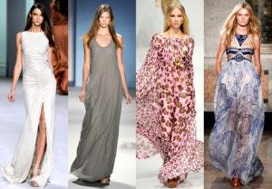 Критерии выбора летних платьев