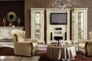 Выбор мебели для гостиной в итальянском стиле