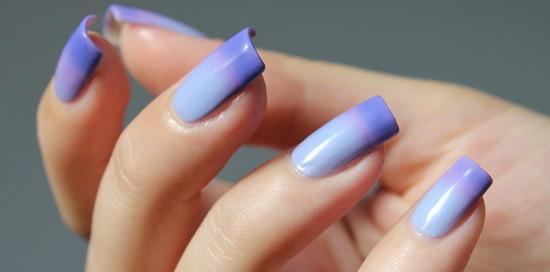 Термо гель-лак для ногтей новое слово в дизайне