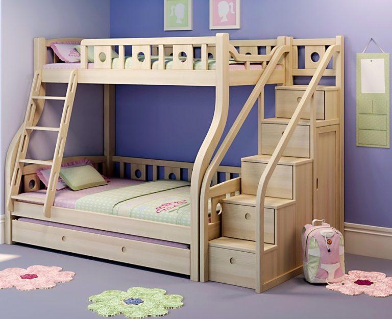 В чём достоинства детских двухъярусных кроватей?