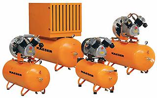 Основные области применения компрессоров