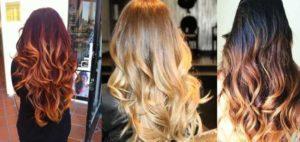 Наиболее популярные разновидности окрашивания волос омбре