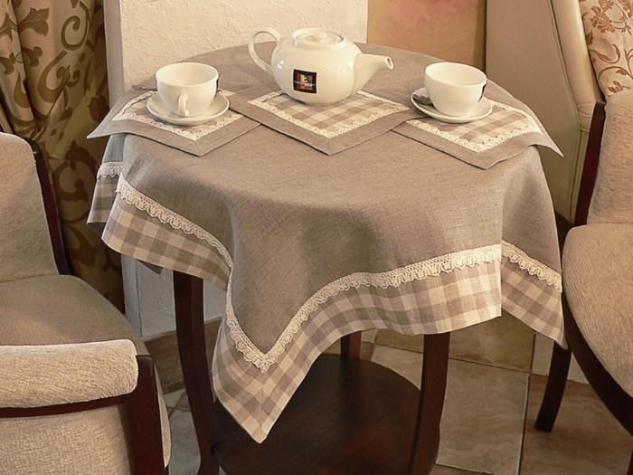 Скатерть - практичное украшение стола