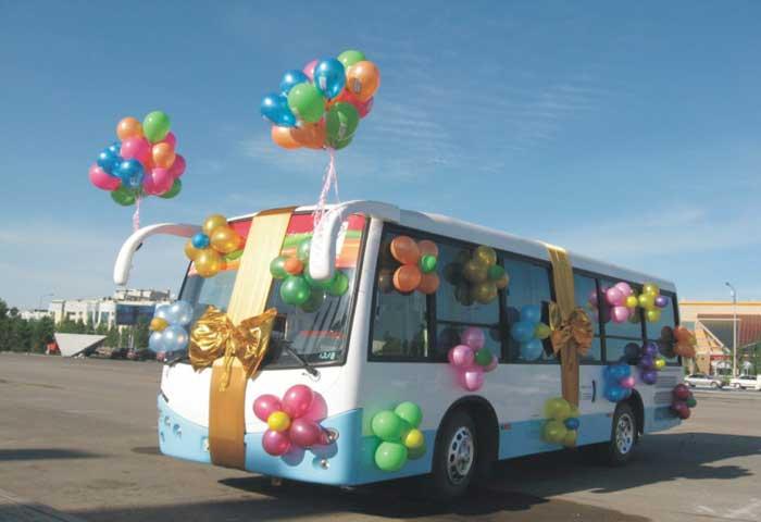 Нужен ли автобус на свадьбу