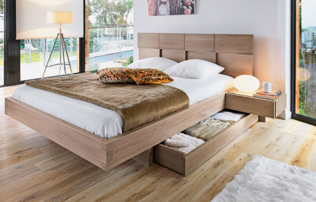Двуспальные кровати и их критерии выбора