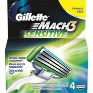 Лезвия Mach3 Sensitive от Gillette - идеальное решение для чувствительной кожи