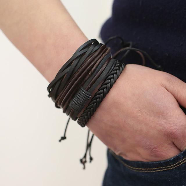 Кожаные браслеты – тренд в 2018 году