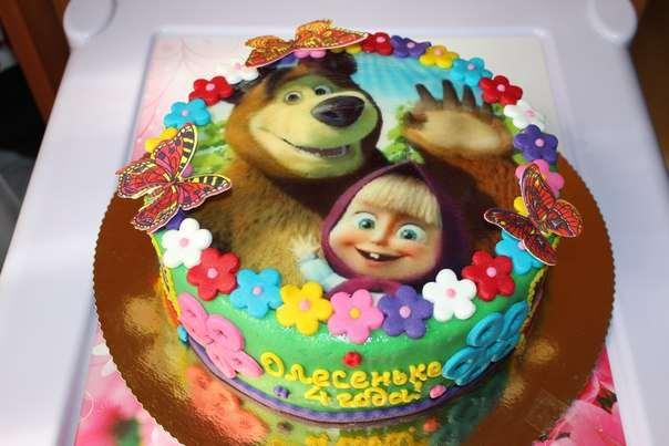 Вафельные картинки для торта и с чем их едят?