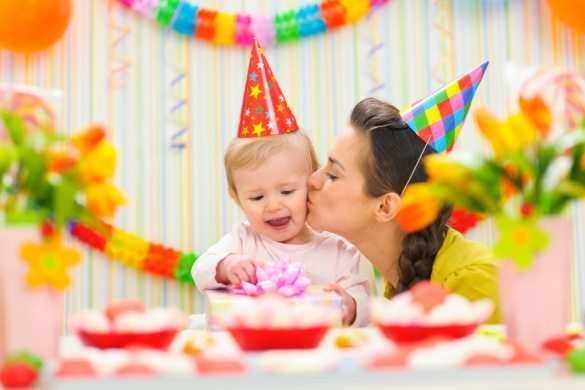 Как отпраздновать первый день рождения малыша?